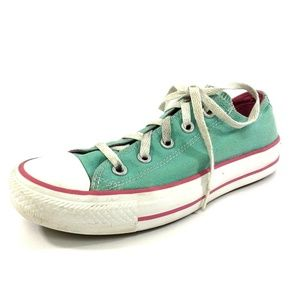 Converse All Stars Womens Shoes Size 6 Aqua Blue G